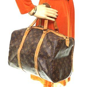 Auth Louis Vuitton Sac Souple 45 Travel #3381L11